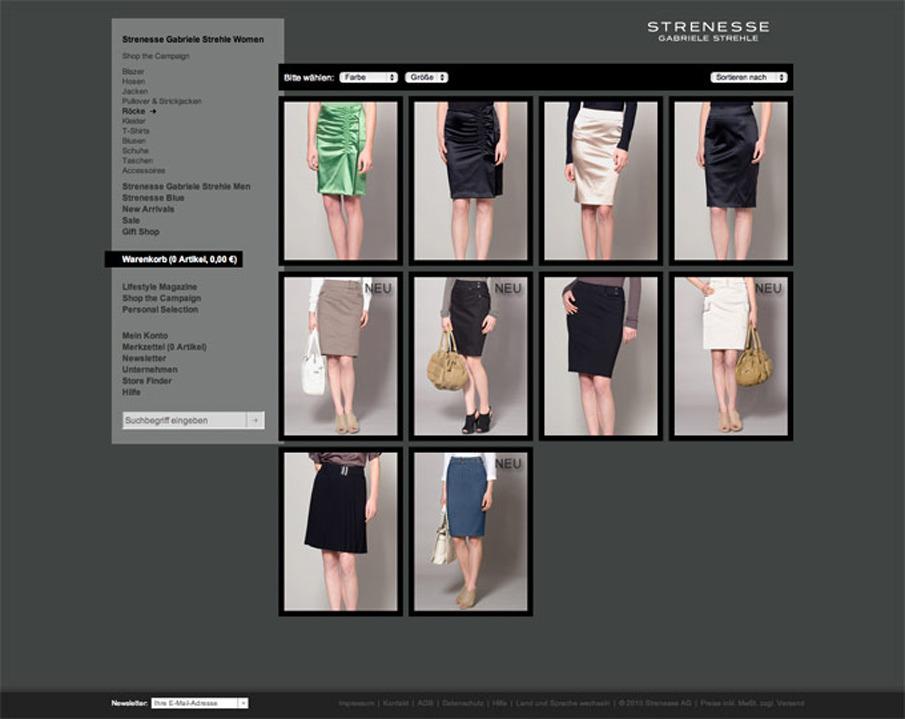 strenesse online shop portfolio benny w rner. Black Bedroom Furniture Sets. Home Design Ideas