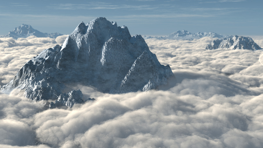 Mountains Above the Clouds - Portfolio